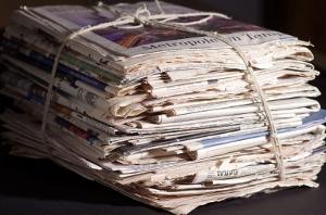 Alte Zeitungen - (C) by Iwona Golczyk www.pixelio.de