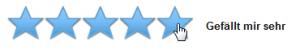 amazon Bewertung 5 Sterne eingeben